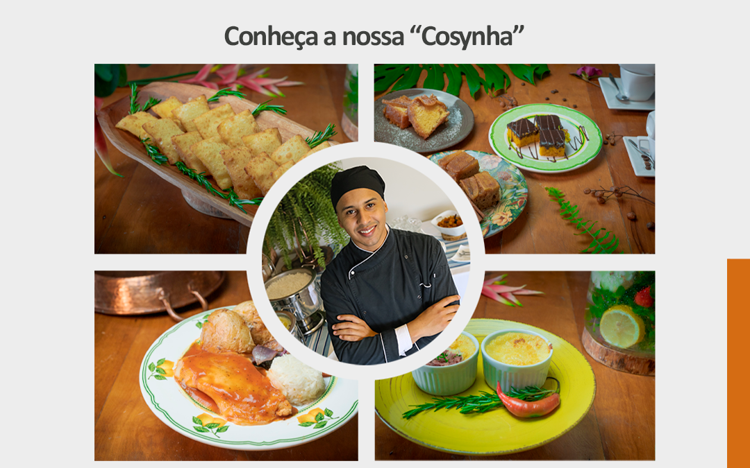 """Conheça nossa """"Cosynha"""""""